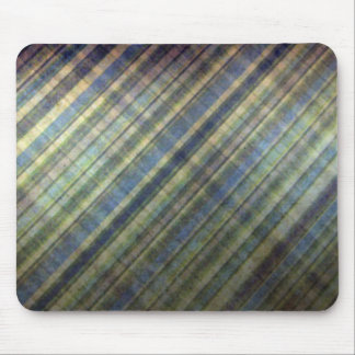 Sage and Lavender Stripes Mouse Pad