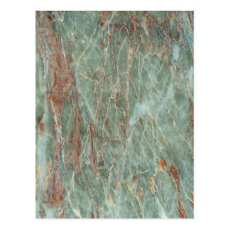 Sage and Rust Marble Postcard