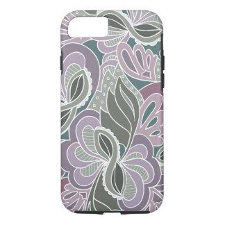 Sage Blush Garden Pattern iPhone 7 Case