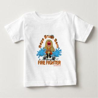 Sage_Brush_Sam_Firefighter Baby T-Shirt