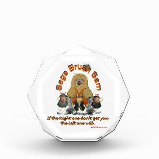Sage_Brush_Sam_Sheriff Acrylic Award