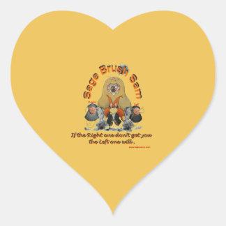 Sage_Brush_Sam_Sheriff Heart Sticker