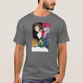 SAGE comics t-shirt featuring Jet Wave, Zoom Zac,