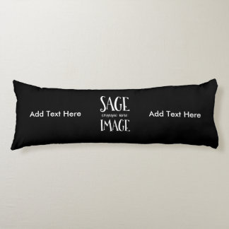 Sage Comme Une Image - Funny French Expression Body Pillow
