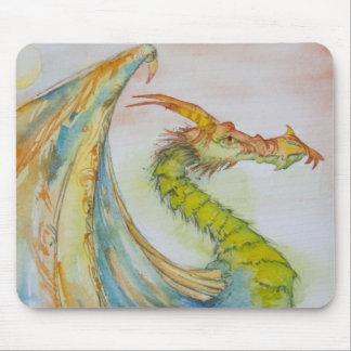 Sage Dragon Mouse Pad