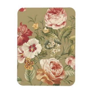 Sage Floral Roses Flexible Magnets