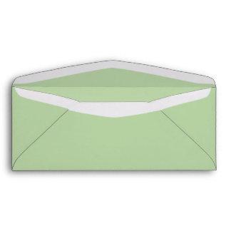 Sage Green #10 Envelope