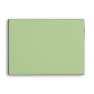 Sage Green 5x7 Envelopes