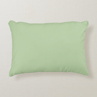 """Sage Green"" Accent Pillow"