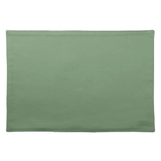 Sage Green Background on a Placemat