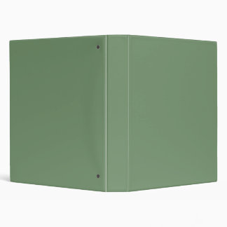Sage Green Binder