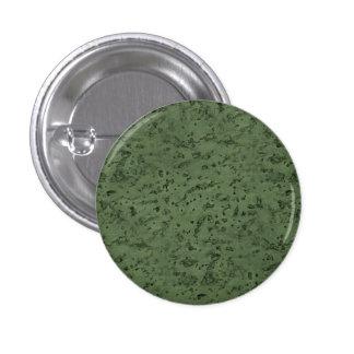 Sage Green Cork Look Wood Grain 1 Inch Round Button