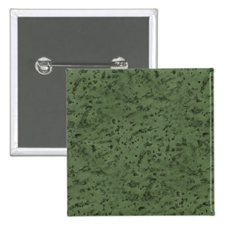 Sage Green Cork Look Wood Grain 2 Inch Square Button