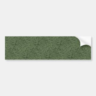 Sage Green Cork Look Wood Grain Bumper Sticker