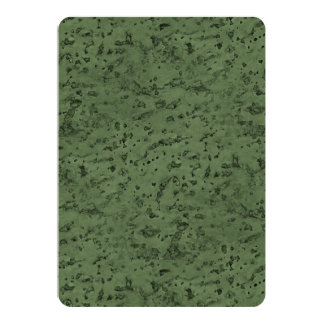 Sage Green Cork Look Wood Grain Card