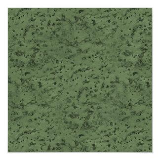 Sage Green Cork Look Wood Grain Magnetic Card