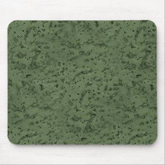 Sage Green Cork Look Wood Grain Mouse Pad
