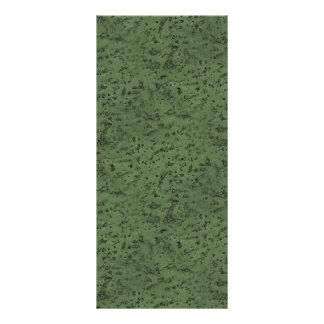 Sage Green Cork Look Wood Grain Rack Card