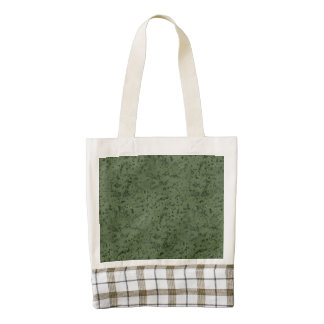 Sage Green Cork Look Wood Grain Zazzle HEART Tote Bag