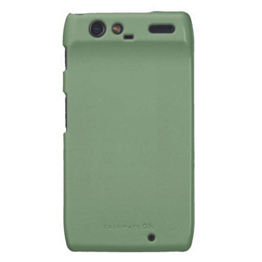 Sage Green Droid Razr Motorola Droid RAZR Case