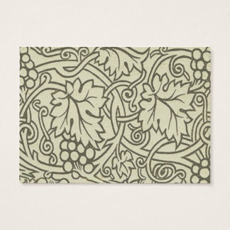 Sage Green Grapevile William Morris Pattern Business Card