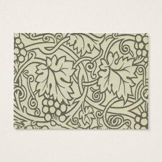 Sage Green Grapevile William Morris Pattern Business Card