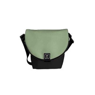 """Sage Green"" Messenger Bags"