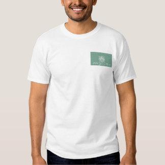 Sage Green Vintage Monogram Business Tshirts
