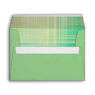 Sage Green with patterned inside Envelope