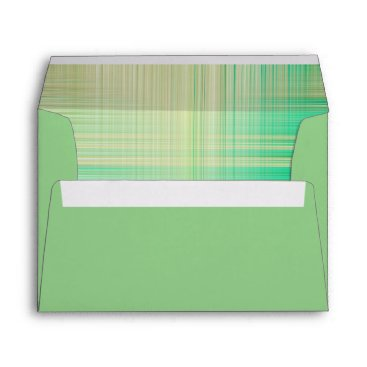 Professional Business Sage Green with patterned inside Envelope