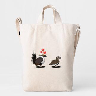 Sage Grouse Love Duck Bag