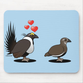 Sage Grouse Love Mouse Pad