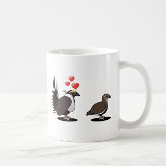 Sage Grouse Love Classic White Coffee Mug