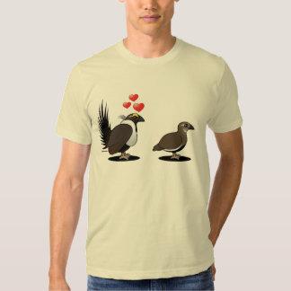 Sage Grouse Love T Shirt