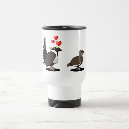 Sage Grouse Love Travel Mug