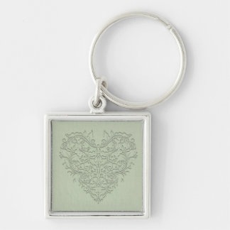 Sage HeartyChic Key Chains