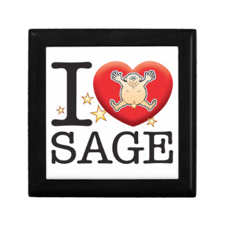 Sage Love Man Keepsake Box
