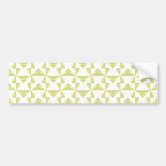 Sage Pinwheels Bumper Sticker