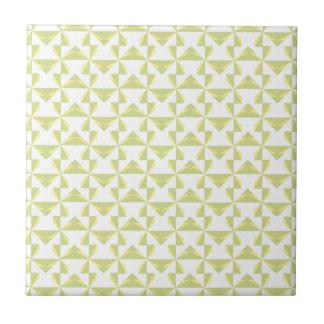 Sage Pinwheels Tile