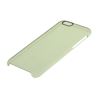 Sage Solid Color Uncommon Clearly™ Deflector iPhone 6 Case
