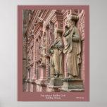 Sage Statues at Heidelberg Poster
