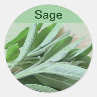 sage stickers round sticker