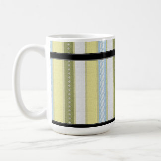 SAGE  STRIPED MUGS (matching items available)