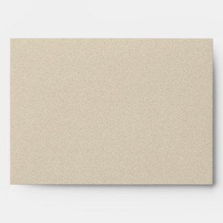 Sage Succulent Wedding Envelope