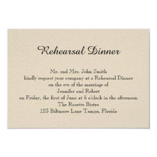 Sage Succulent Wedding Rehearsal 3.5x5 Paper Invitation Card