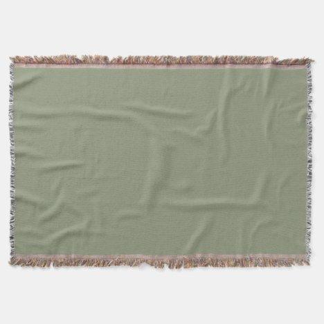 Sage Throw Blanket