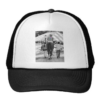 Sage Valley wins the James Marvin Stakes Trucker Hat