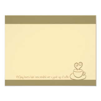 Sagebrush Mended Hearts Coffee Cup Note Cards