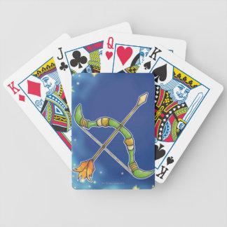 Sagitario 2 barajas de cartas