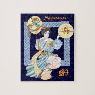 Sagitario céltico puzzles con fotos